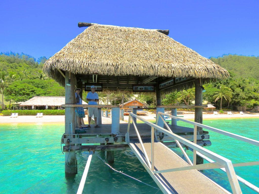 Palmex roof Malolo Island Resort