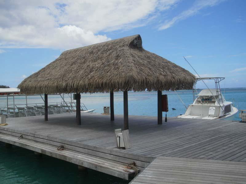 Dock, Moorea